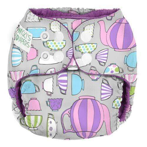 Nicki's Diapers One Size Snap Pocket - Little Lady Remix