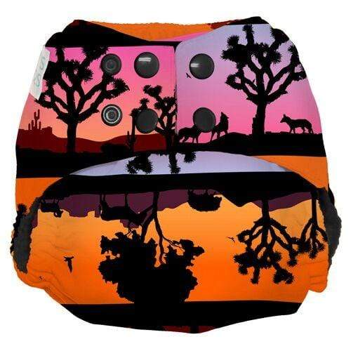 Nicki's Diapers One Size Snap Ultimate All in One - Desert Twilight