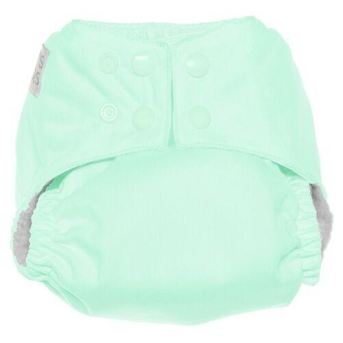 Nicki's Diapers One Size Snap Ultimate All in One - Key Lime