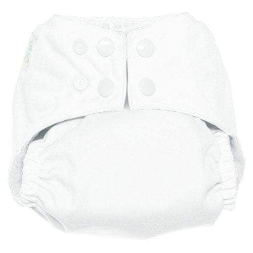 Nicki's Diapers One Size Snap Ultimate All in One - Marshmallow