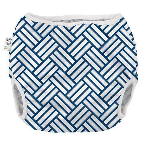 Nicki's Diapers Pull on Diaper Cover - Woven Night