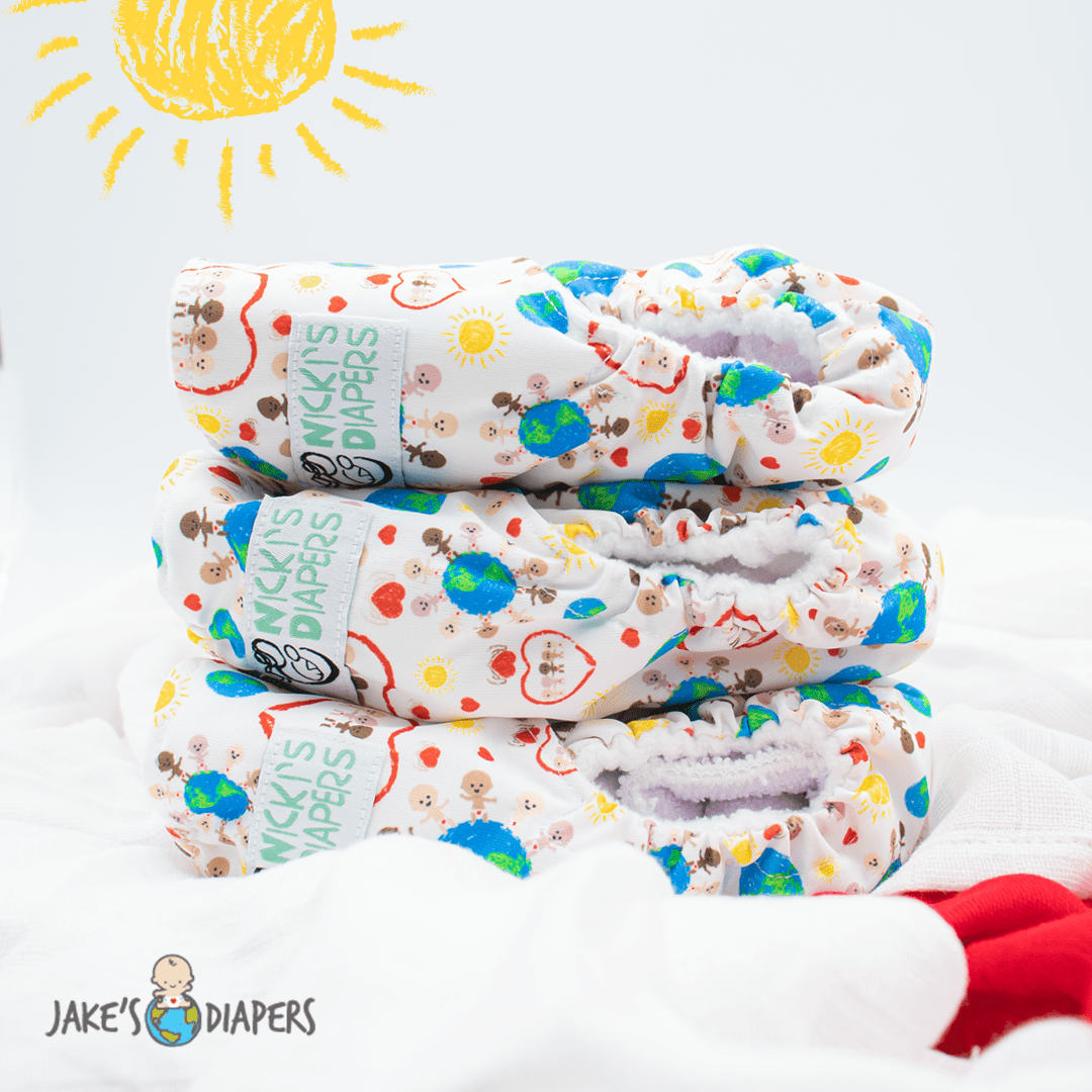Nicki's Diapers Stretchy Swaddle Blanket - Hands of Hope