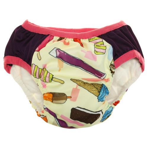 Nicki's Diapers Training Pants - Brain Freeze - Strawberry S