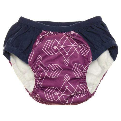 Nicki's Diapers Training Pants - Compass Mulberry
