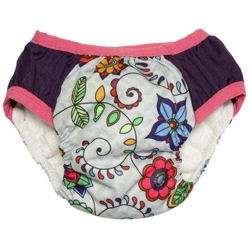 Nicki's Diapers Training Pants - Doodle Bloom S