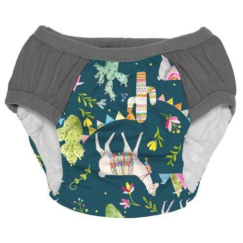 Nicki's Diapers Training Pants - Llama Party S