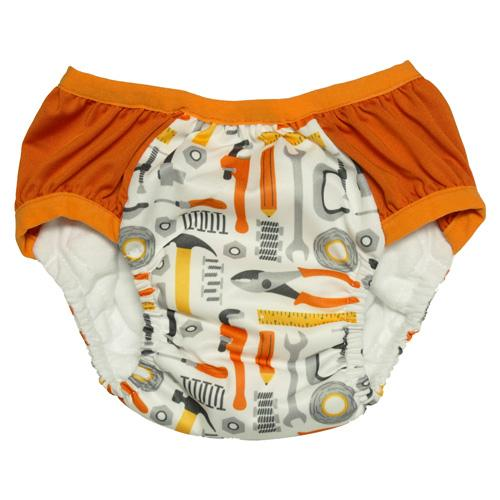Nicki's Diapers Training Pants - Toolin' Around S