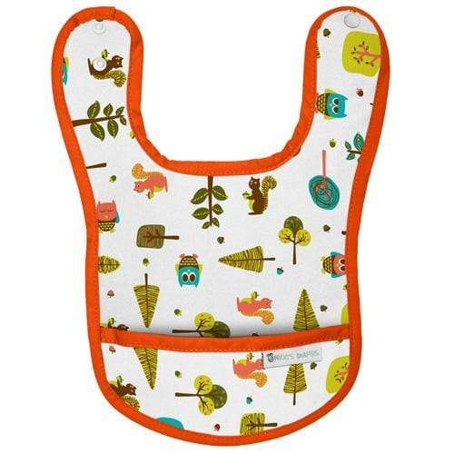 Nicki's Diapers Waterproof Bibs - Tree Friends