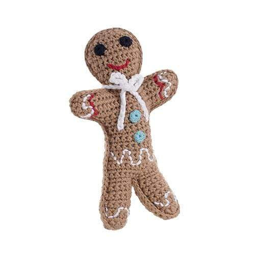 Pebble Gingerbread Rattle