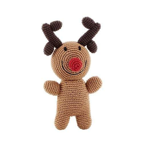 Pebble Rudolph Rattle