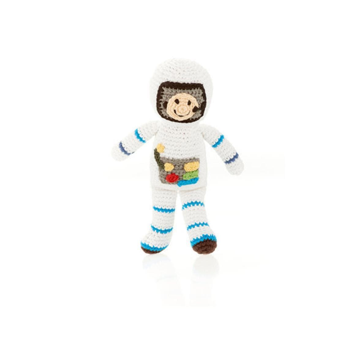 Pebble Spaceman Rattle