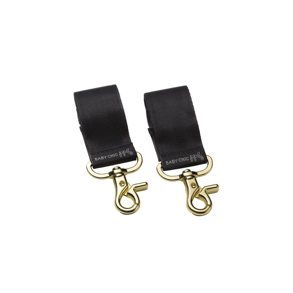 Petunia Pickle Bottom Valet Stroller Clips - Gold