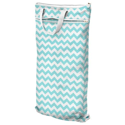 Planet Wise Hanging Wet/Dry Bag - Teal Chevron