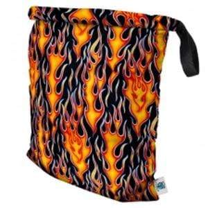 Planet Wise Large Roll-Down Wet Bag - Flame L