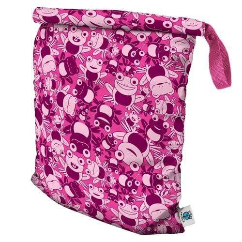 Planet Wise Large Roll-Down Wet Bag - Hopping Holly L