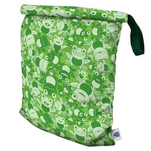 Planet Wise Large Roll-Down Wet Bag - Leaping Leo L