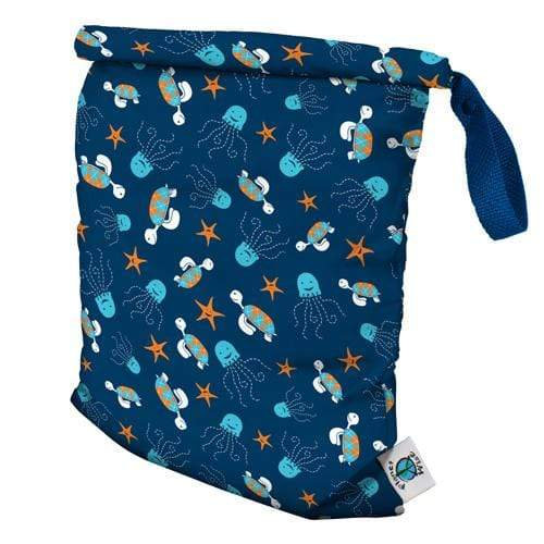 Planet Wise Medium Packing Cube - Navy Sea Friends M
