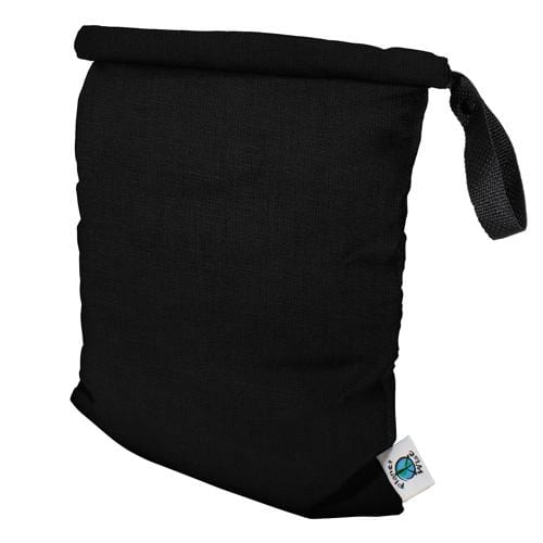 Planet Wise Medum Roll-Down Wet Bag - Black M