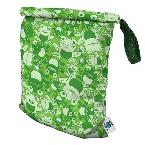 Planet Wise Medum Roll-Down Wet Bag - Leaping Leo M
