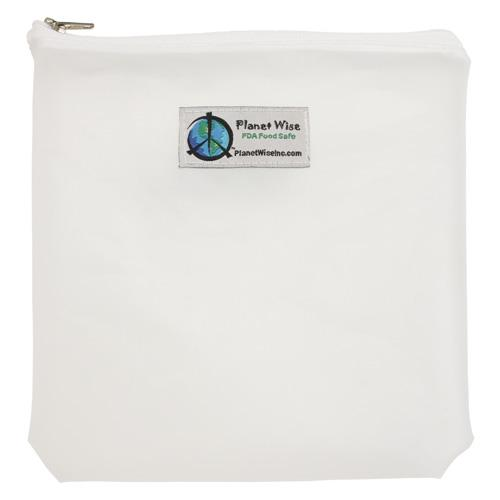 Planet Wise Reusable Clear Zipper Quart Bag - Clear