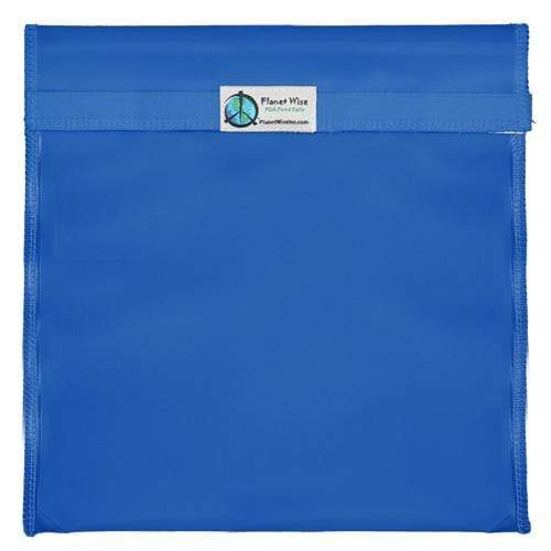 Planet Wise Reusable Tinted Hook and Loop Gallon Bag - Blue