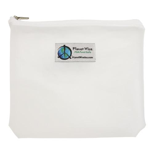Planet Wise Reusable Tinted Zipper Sandwich Bag - Clear