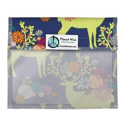 Planet Wise Reusable Window Bag - Caribou Bloom