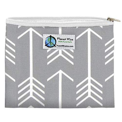 Planet Wise Reusable Zipper Sandwich Bag - Aim Twill
