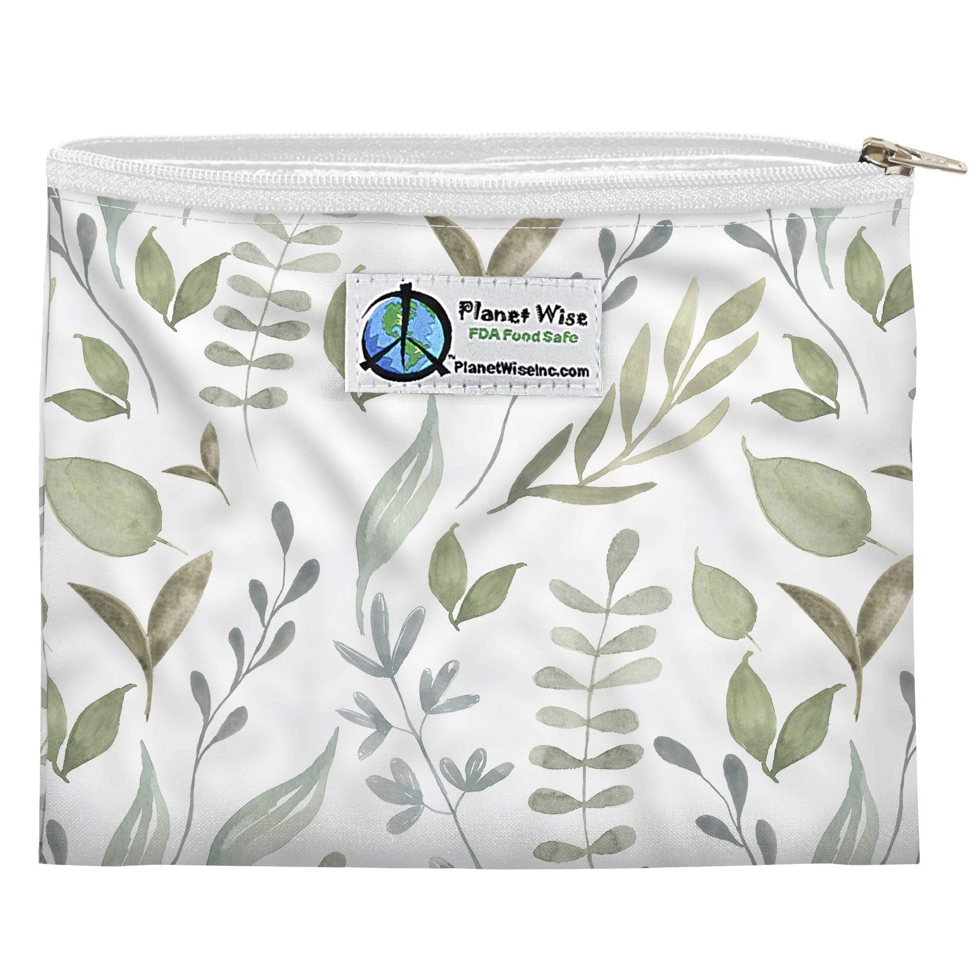 Planet Wise Reusable Zipper Sandwich Bag - Beleaf In Yourself Performance