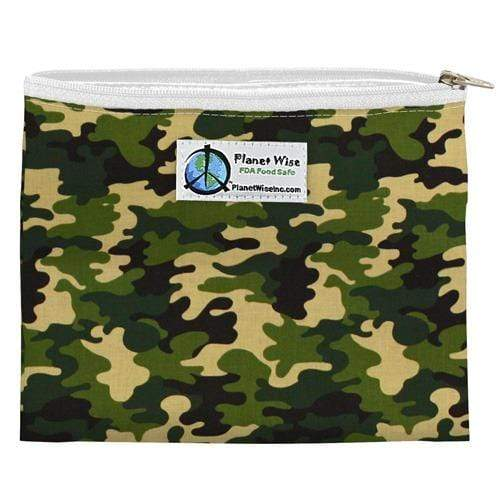 Planet Wise Reusable Zipper Sandwich Bag - Camo
