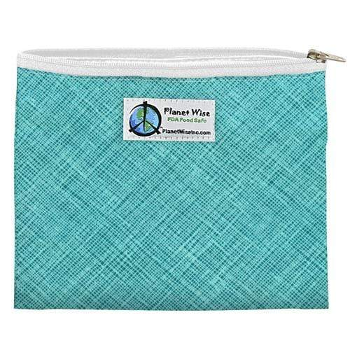 Planet Wise Reusable Zipper Sandwich Bag - Drip Drop