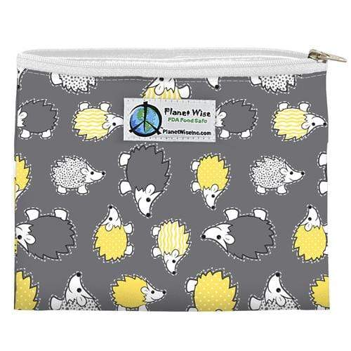 Planet Wise Reusable Zipper Sandwich Bag - Hedgehog