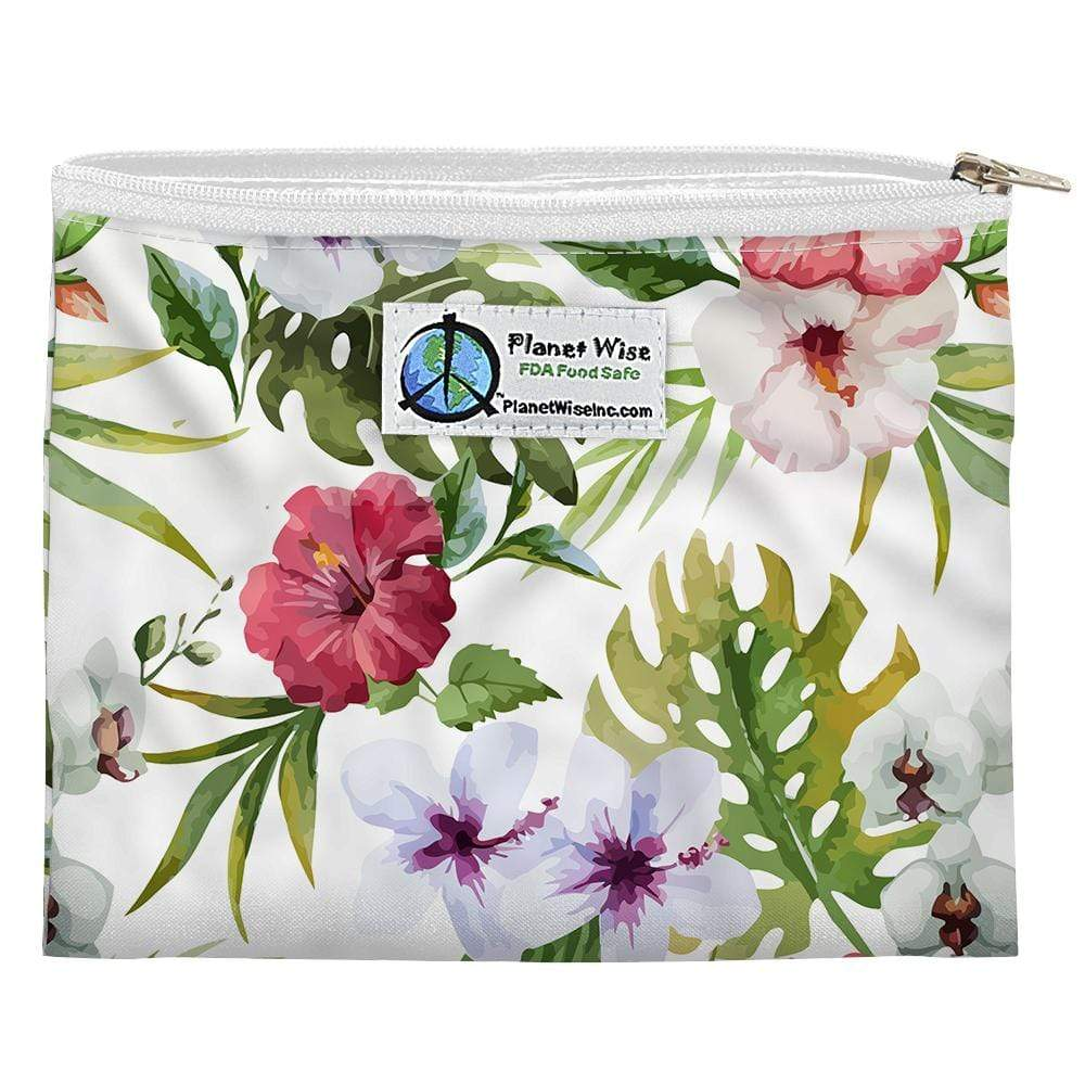 Planet Wise Reusable Zipper Sandwich Bag - Island Paradise