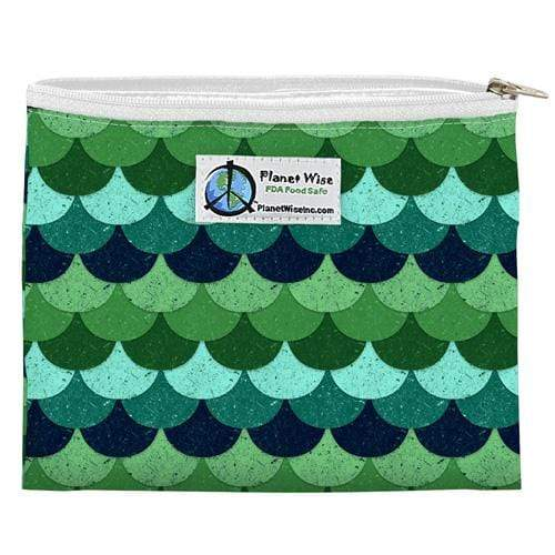 Planet Wise Reusable Zipper Sandwich Bag - Loch Ness
