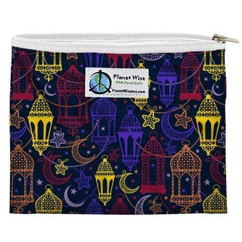 Planet Wise Reusable Zipper Sandwich Bag - Magic Carpet
