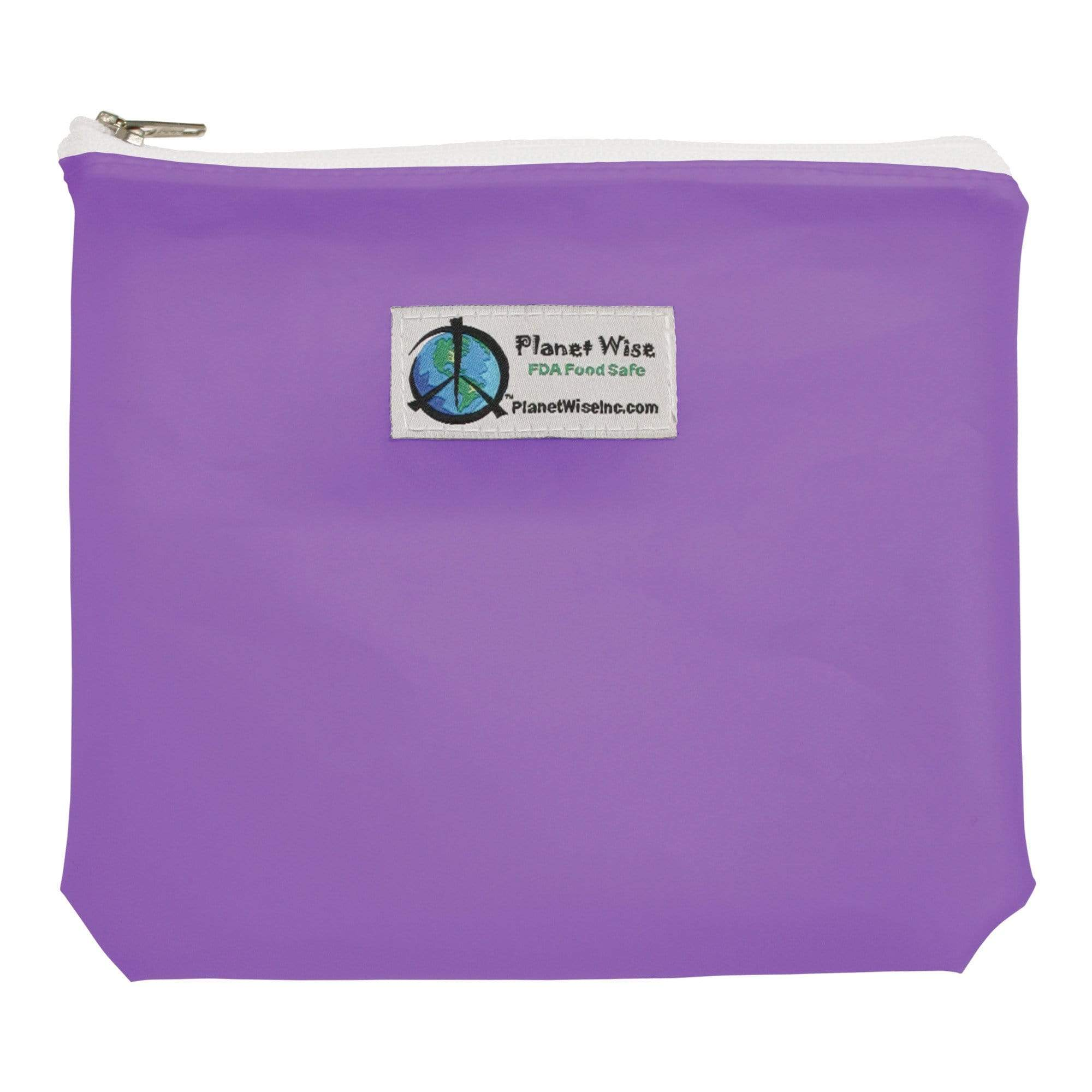Planet Wise Reusable Zipper Sandwich Bag - Plum