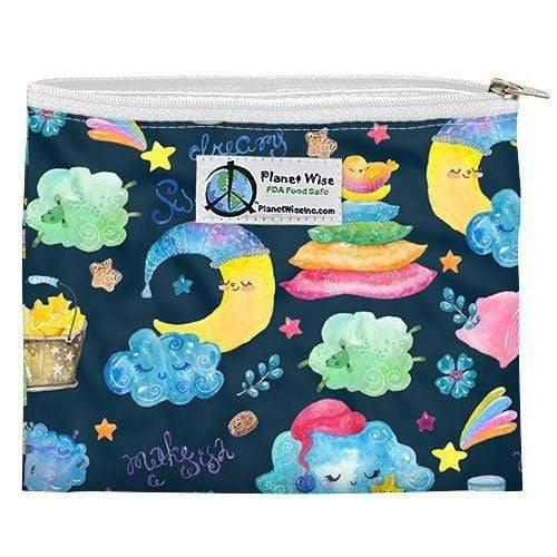 Planet Wise Reusable Zipper Sandwich Bag - Sleepy Dust