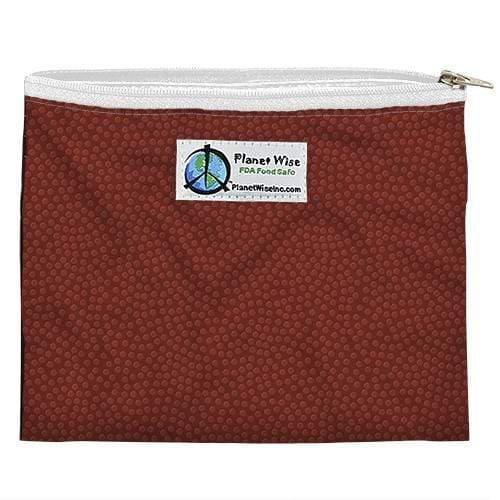 Planet Wise Reusable Zipper Sandwich Bag - Tight End