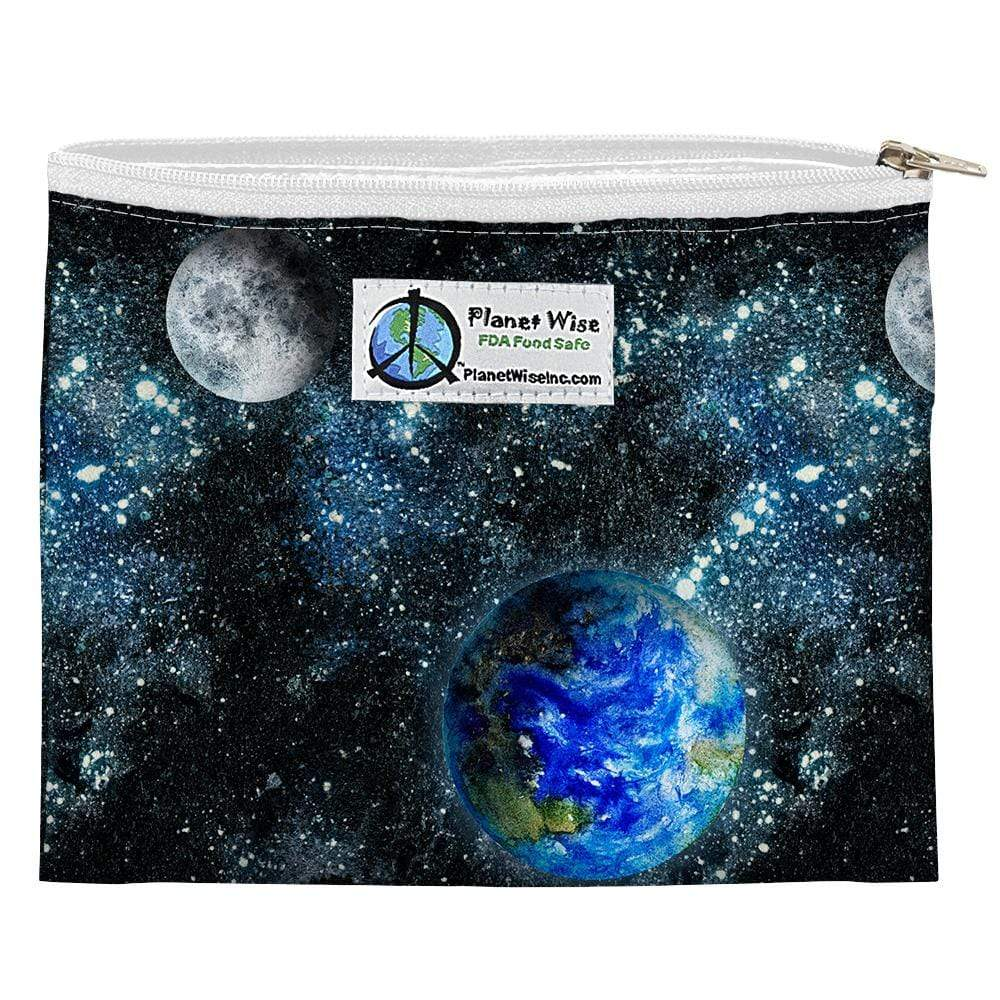 Planet Wise Reusable Zipper Sandwich Bag - Via Galactica