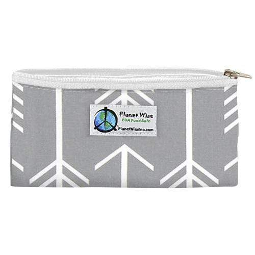 Planet Wise Reusable Zipper Snack Bag - Aim Twill