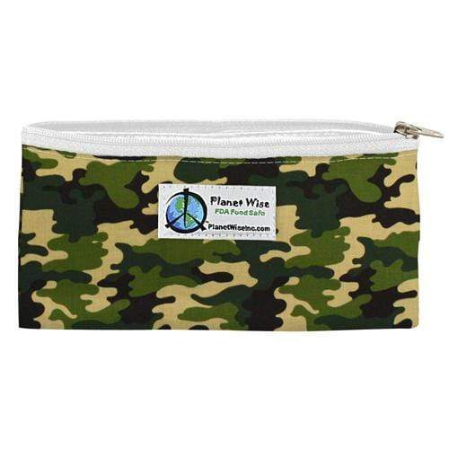 Planet Wise Reusable Zipper Snack Bag - Camo