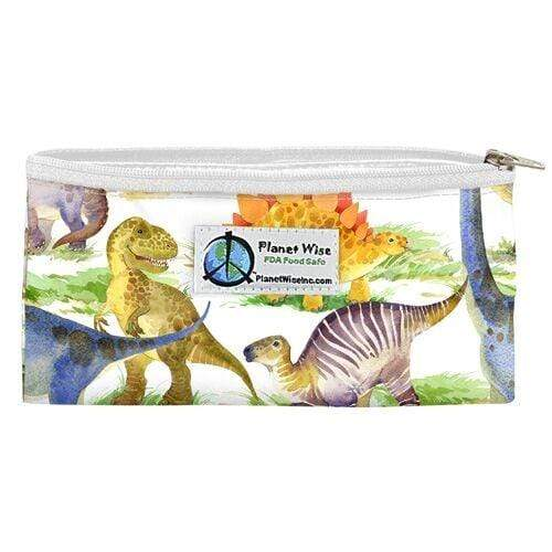 Planet Wise Reusable Zipper Snack Bag - Dino Mite