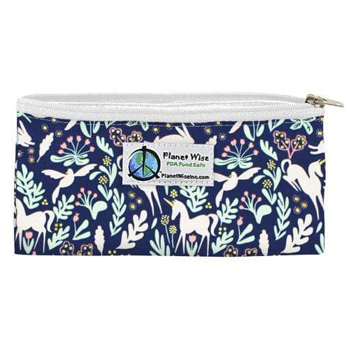 Planet Wise Reusable Zipper Snack Bag - Enchanted Unicorn