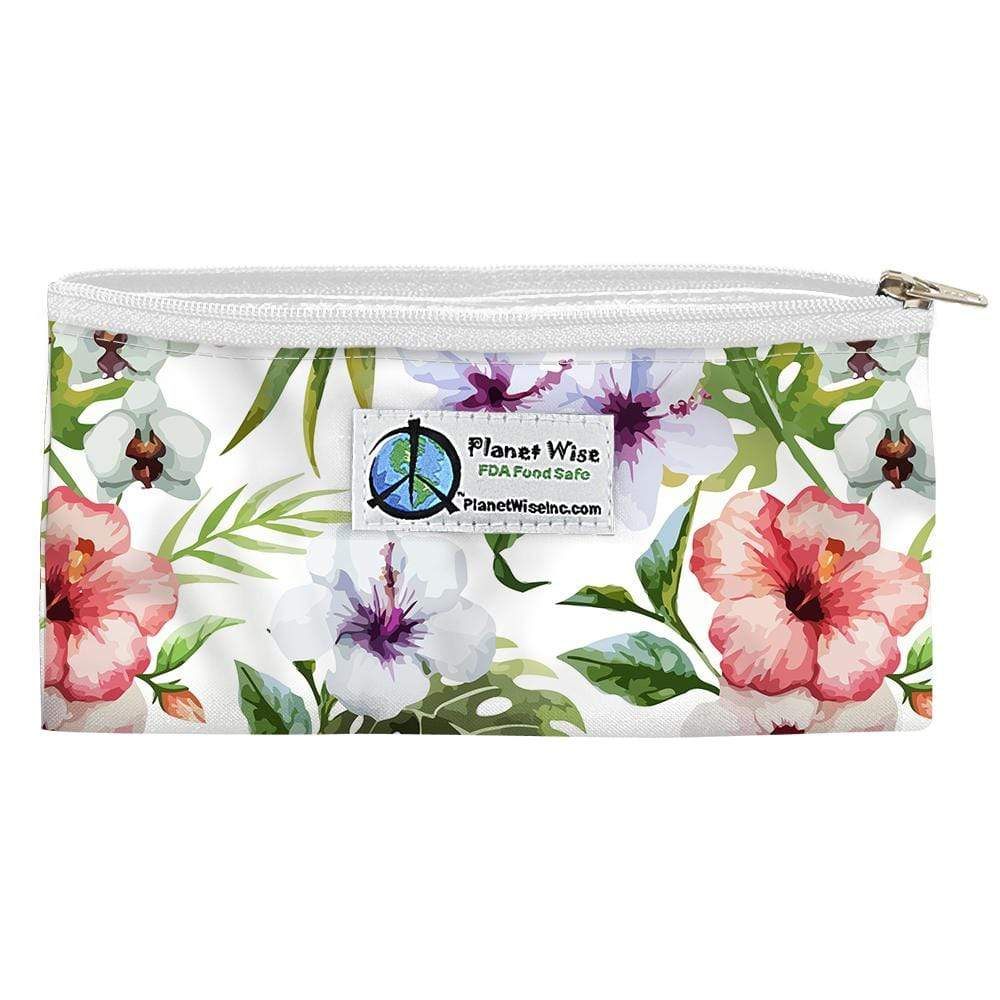 Planet Wise Reusable Zipper Snack Bag - Island Paradise