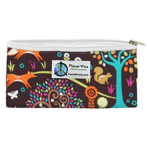 Planet Wise Reusable Zipper Snack Bag - Jewel Woods
