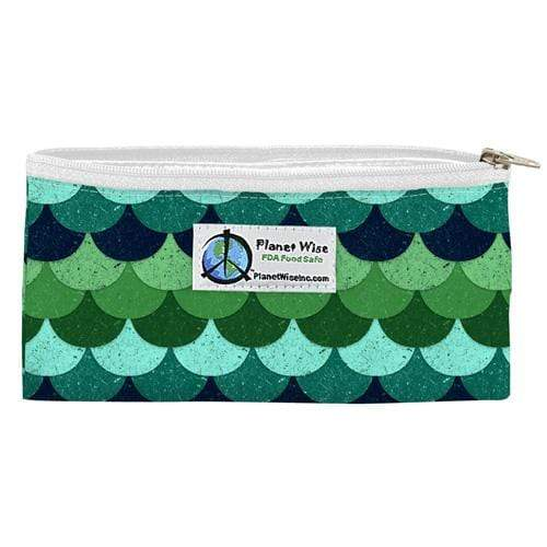 Planet Wise Reusable Zipper Snack Bag - Loch Ness