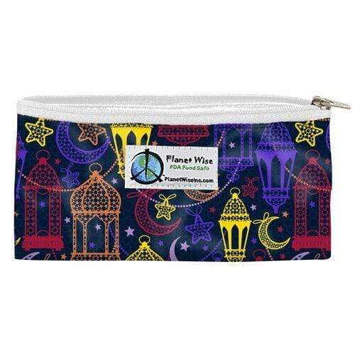 Planet Wise Reusable Zipper Snack Bag - Magic Carpet