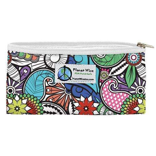 Planet Wise Reusable Zipper Snack Bag - Oasis