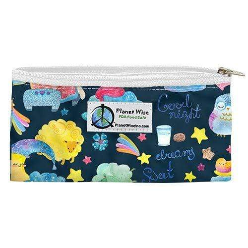 Planet Wise Reusable Zipper Snack Bag - Sleepy Dust