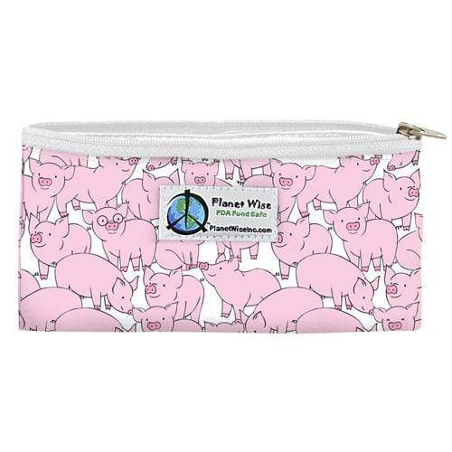 Planet Wise Reusable Zipper Snack Bag - This Little Piggy